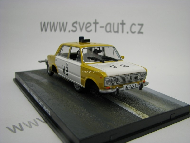 Lada 1500 The Living Daylights James Bond 007 1:43 Universal Hobbies